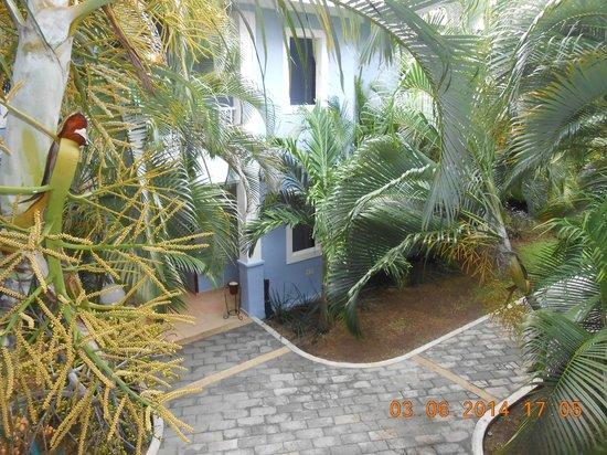 Hotel Riu Playacar: Vista del corredor