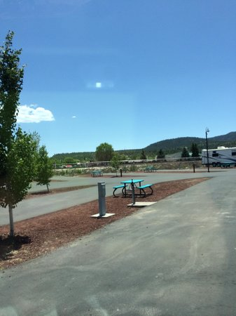Grand Canyon Railway RV Park: Campsite