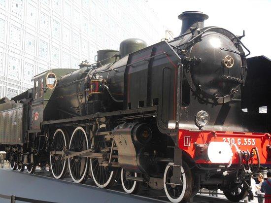 Institut du Monde Arabe: La locomotive