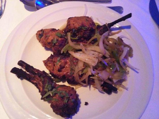 Lalbagh Bangladeshi & Indian Diner : Lamb chops (ordered as a main on this visit)