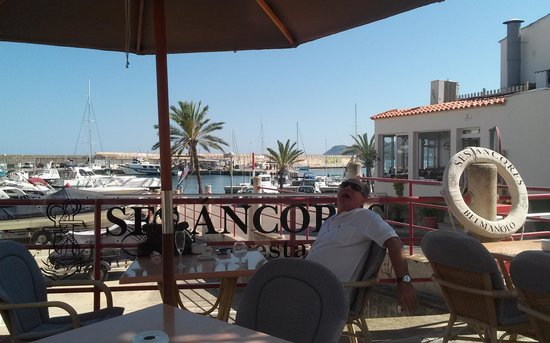 Ses Ancores : terraza restaurante
