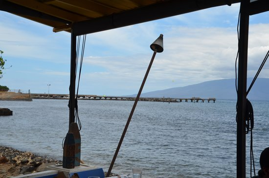 Honu Seafood and Pizza: View from Restaurant