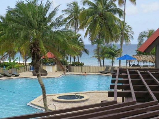 Renaissance St. Croix Carambola Beach Resort & Spa: Pool View