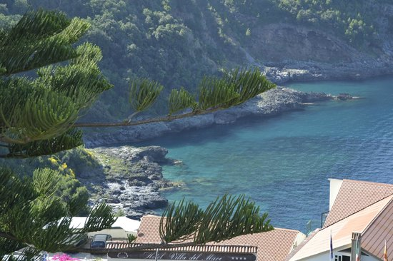 Romantic Hotel & Restaurant Villa Cheta Elite : vista dalla terrazza