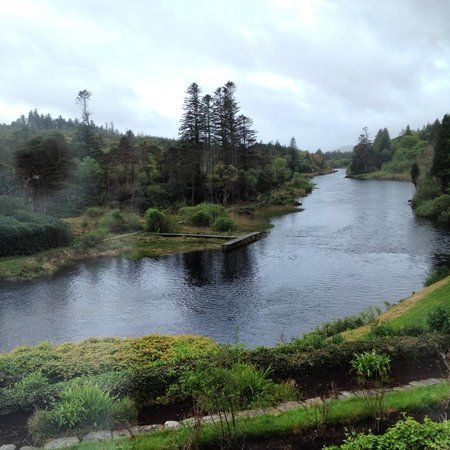 Ballynahinch Castle Hotel: view from room