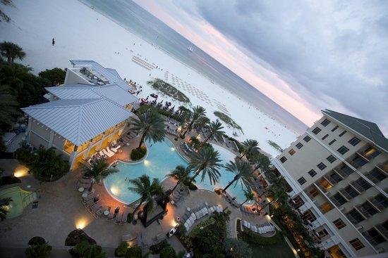 Sandpearl Resort: Balcony overlooking