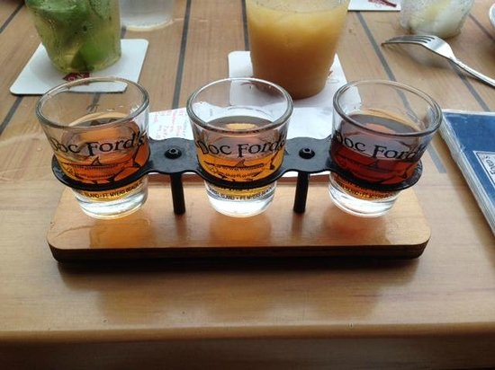 Doc Ford's Rum Bar & Grille Ft. Myers Beach: Premium Rum Flight