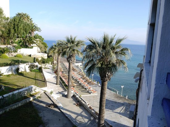 Marti Beach Hotel: vue depuis la chambre 315