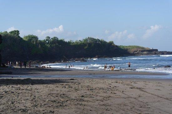 D'Sawah Villas: lokale strand