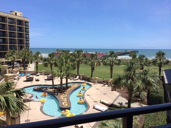 DoubleTree Resort by Hilton Myrtle Beach Oceanfront : View from our room.