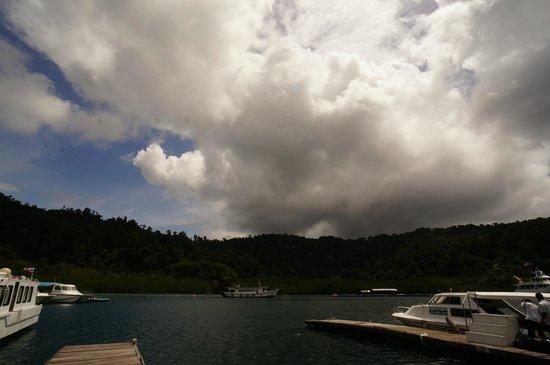 Gayana Eco Resort : On the way to Gaya island