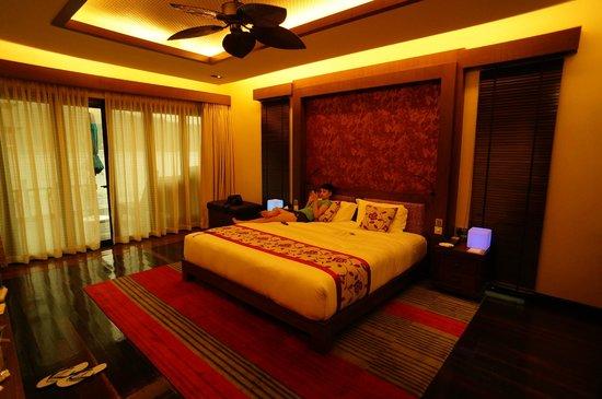 Gayana Eco Resort : Villa interiors