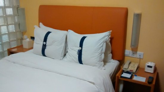 Holiday Inn Express Shanghai Wujiaochang: Soft and hard pillows