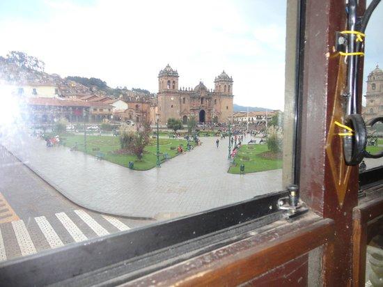 El Meson de Espaderos: vista da janela do espaderos
