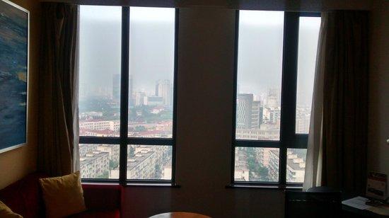 Holiday Inn Express Shanghai Wujiaochang: View from window