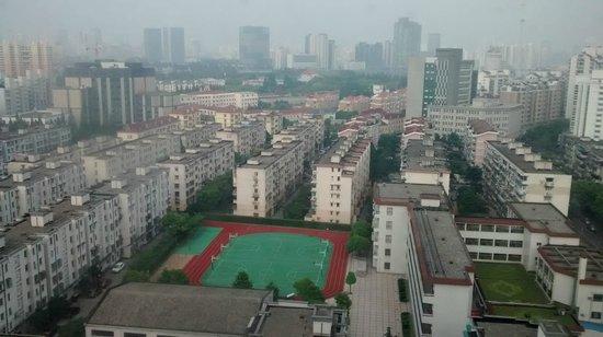 Holiday Inn Express Shanghai Wujiaochang: Nice view from window