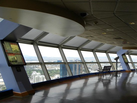 Stratosphere Hotel, Casino and Tower: inside at the top