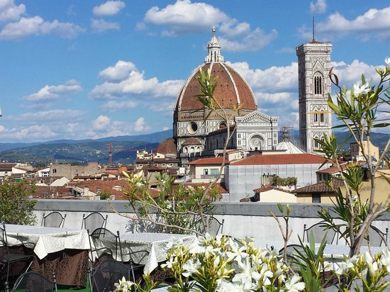B4 Astoria Firenze : View from the rooftop