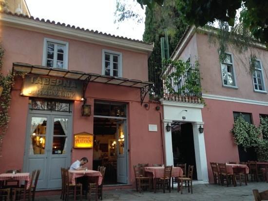 Taverna Platanos : Quite setting Excellent Food