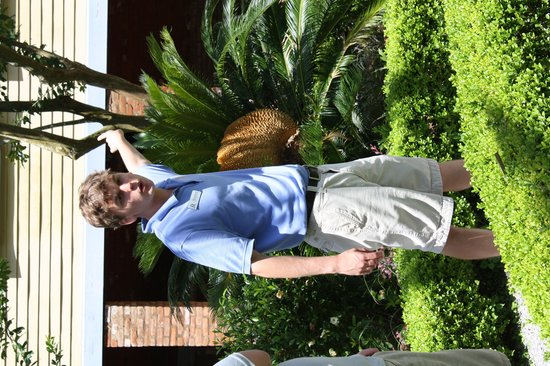 Laura: A Creole Plantation: our guide Stephen