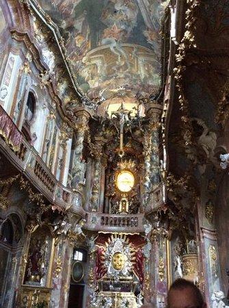 Asam Church: Inside Asam's Church