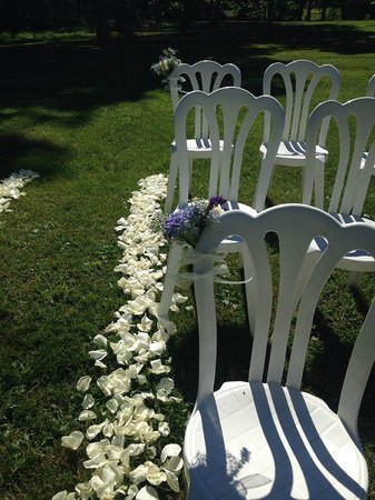 Hillbrook Inn : Rose petal decor
