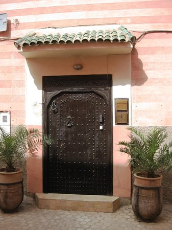 Palais Riad Calipau Marrakech : Front Door