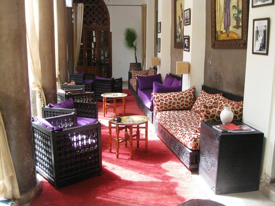 Palais Riad Calipau Marrakech: Rest area 1st floor