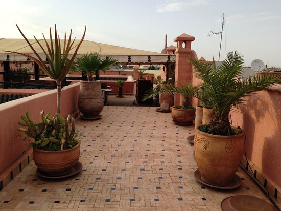 Palais Riad Calipau Marrakech: Roof terrace