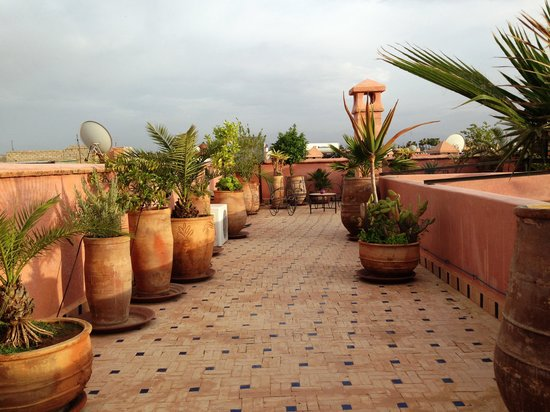 Palais Riad Calipau Marrakech: Roof terrace 2