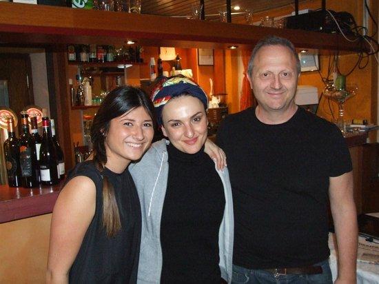 Federale Resturant Pizzeria Besso: Arisa al ristorante Federale
