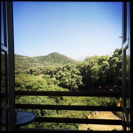 Mesón de Sancho: Blick vom Balkon