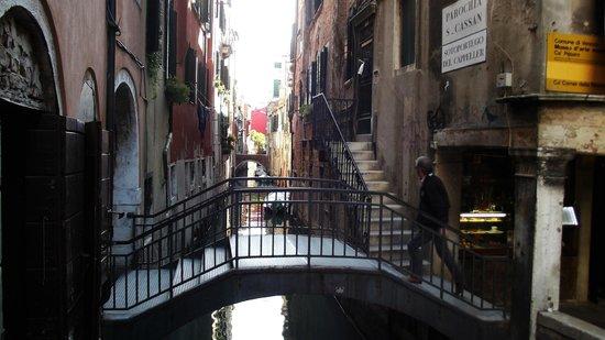 Gran Canal: Callejuelas y canales poco transitados, los mejores