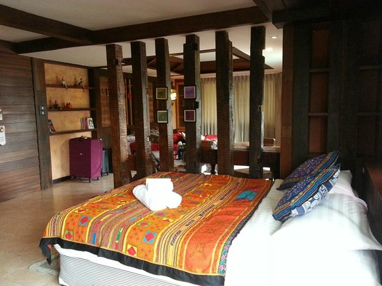 Jangmuang Boutique House: 2 big double beds