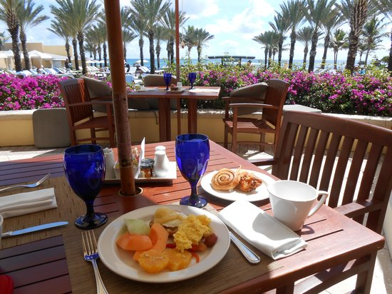 The Westin Dawn Beach Resort & Spa, St. Maarten: Breakfast