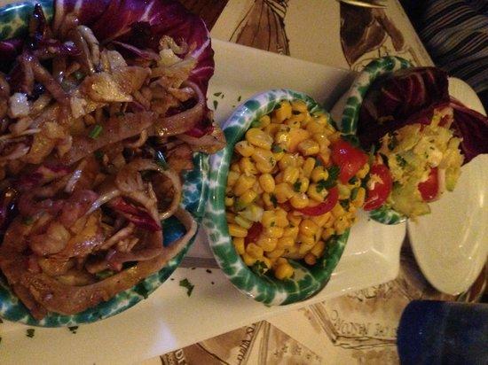 Acqua Al 2 : Salad sampler