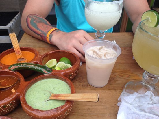 Pancho's Takos: Great drinks