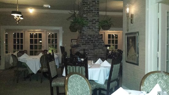 The Veranda: One of the inside dining areas