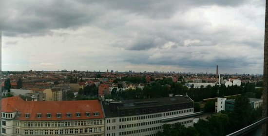 Estrel Berlin: The view over to Berlin