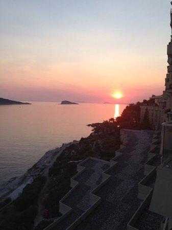 Hotel Croatia Cavtat: view from 5th floor