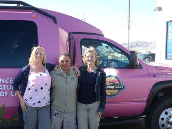 Pink Jeep Tours Las Vegas : The FABULOUS Mr Jim Castrovillari best tour guide ever!