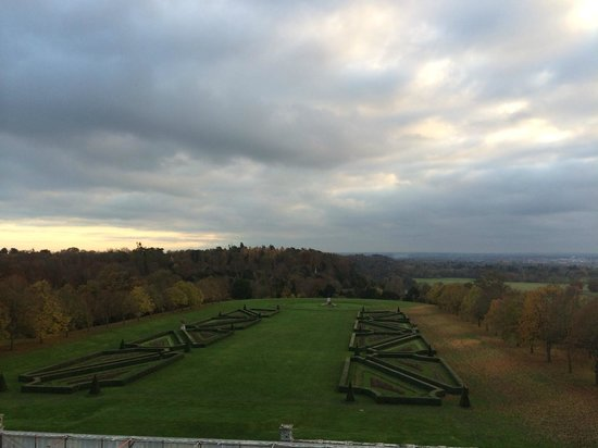 Andre Garrett at Cliveden: View from the Terrace (it is Winter)