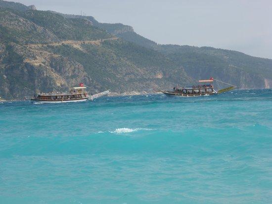 Strand von Ölüdeniz (Blaue Lagune): Zatoka w Oludeniz