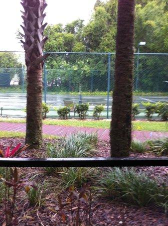 Parkway International Resort: Tennis Court