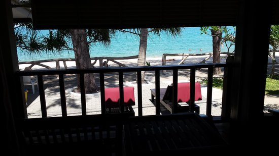 Lamai Inn 99: Die Aussicht vom Zimmer auf Meer