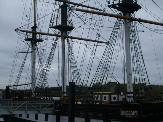 Dunbrody Famine Ship Experience: barco