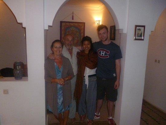 Riad Karim: our lovely hosts