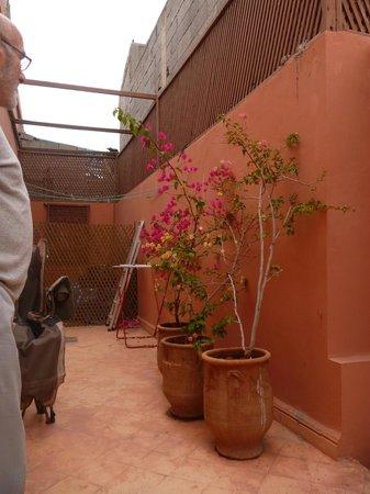 Riad Karim: roof terrace