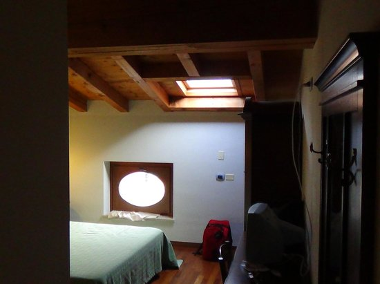 Agriturismo Palazzo: Top floors have a skylight