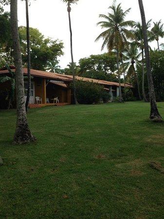 Grand Paradise Samana : Parte trasera de la villa en la que nos hospedamos